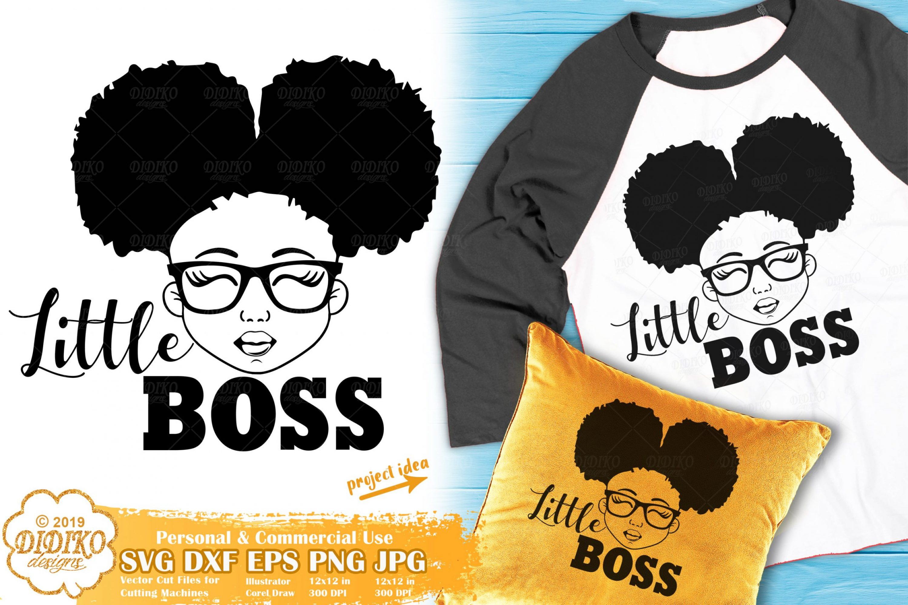 Black Girl SVG #17 | Little Boss SVG | Girl Boss SVG