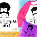 Little Black Girl SVG #2