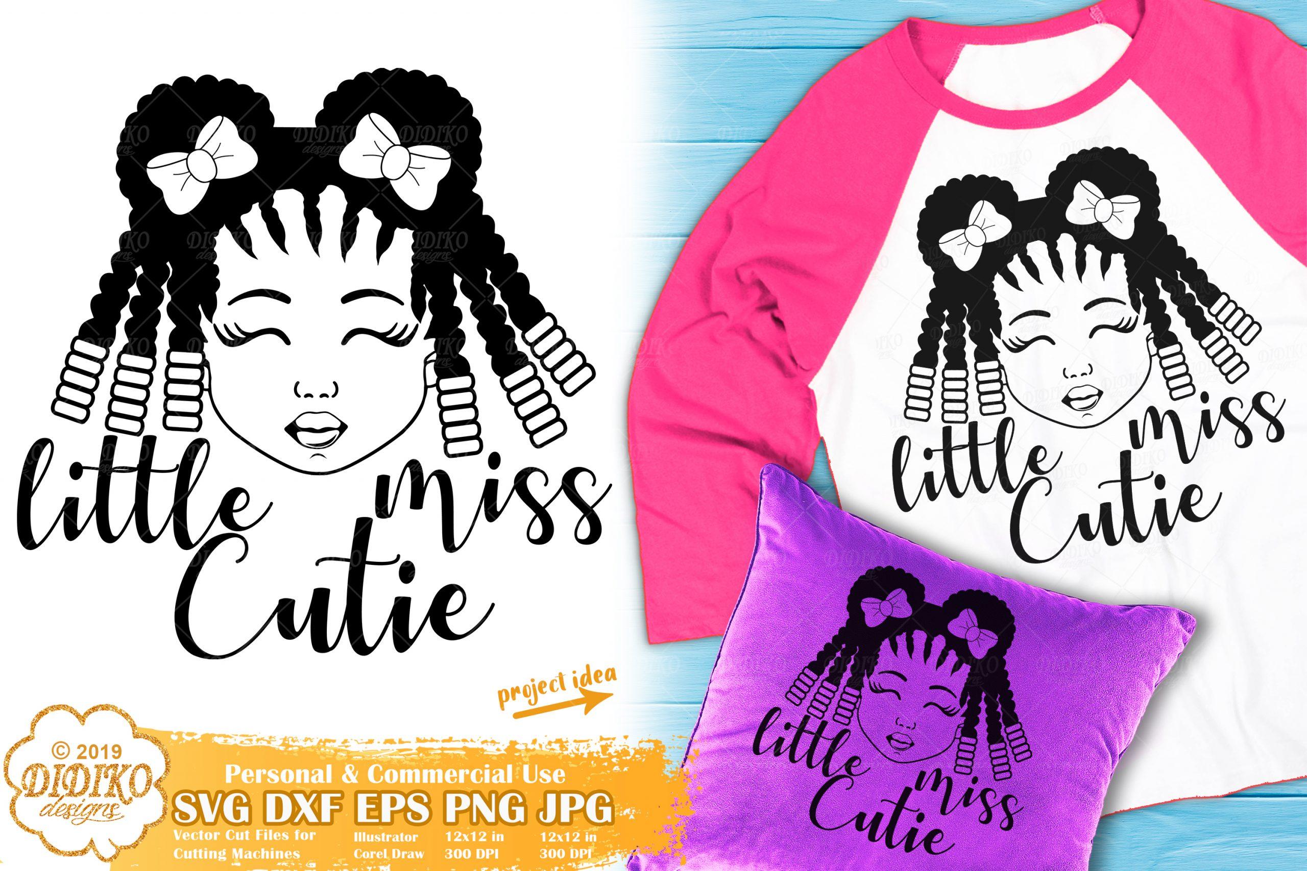 Little Black Girl Svg 4 Afro Girl Svg African American Didiko Designs