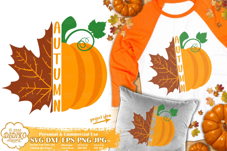 Autumn SVG | Pumpkin Svg | Fall Leaves Svg | Fall Svg