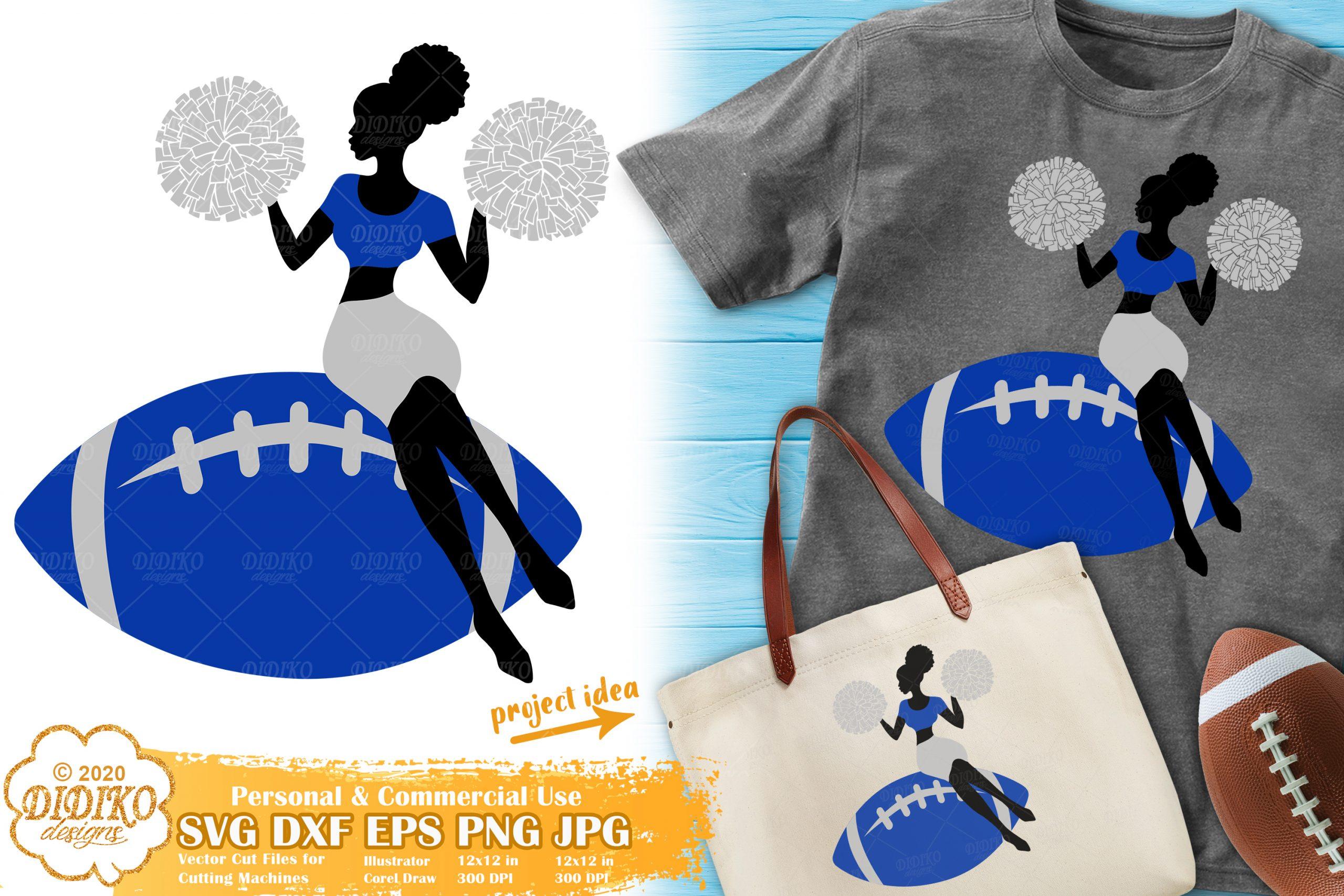 Cheerleader SVG