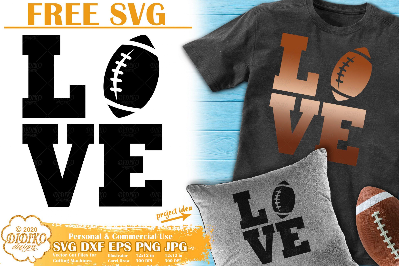 Football SVG Free | Football Ball Svg Free | Love Svg