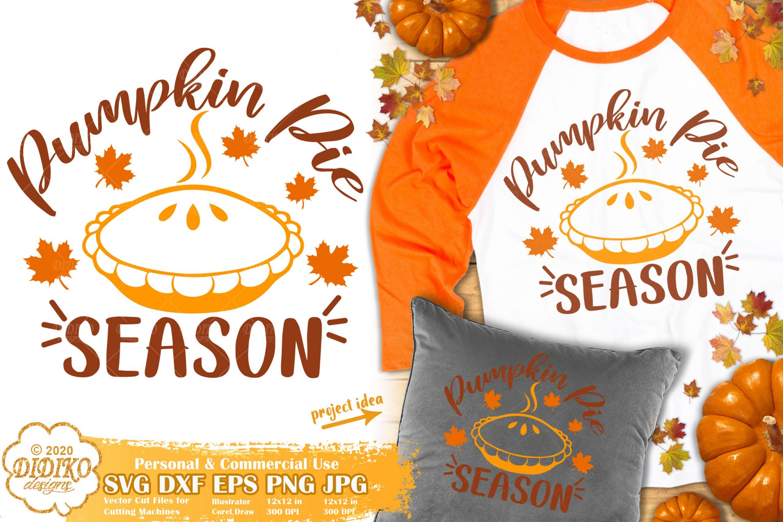 Thanksgiving SVG #1 | Pumpkin Pie svg | fall season svg