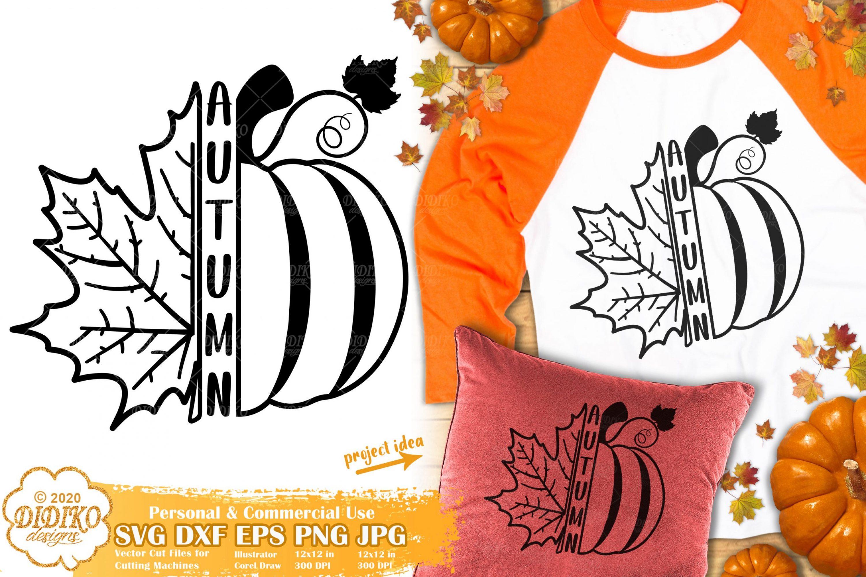 Autumn SVG #1 | Pumpkin Svg | Fall leaves svg | fall svg