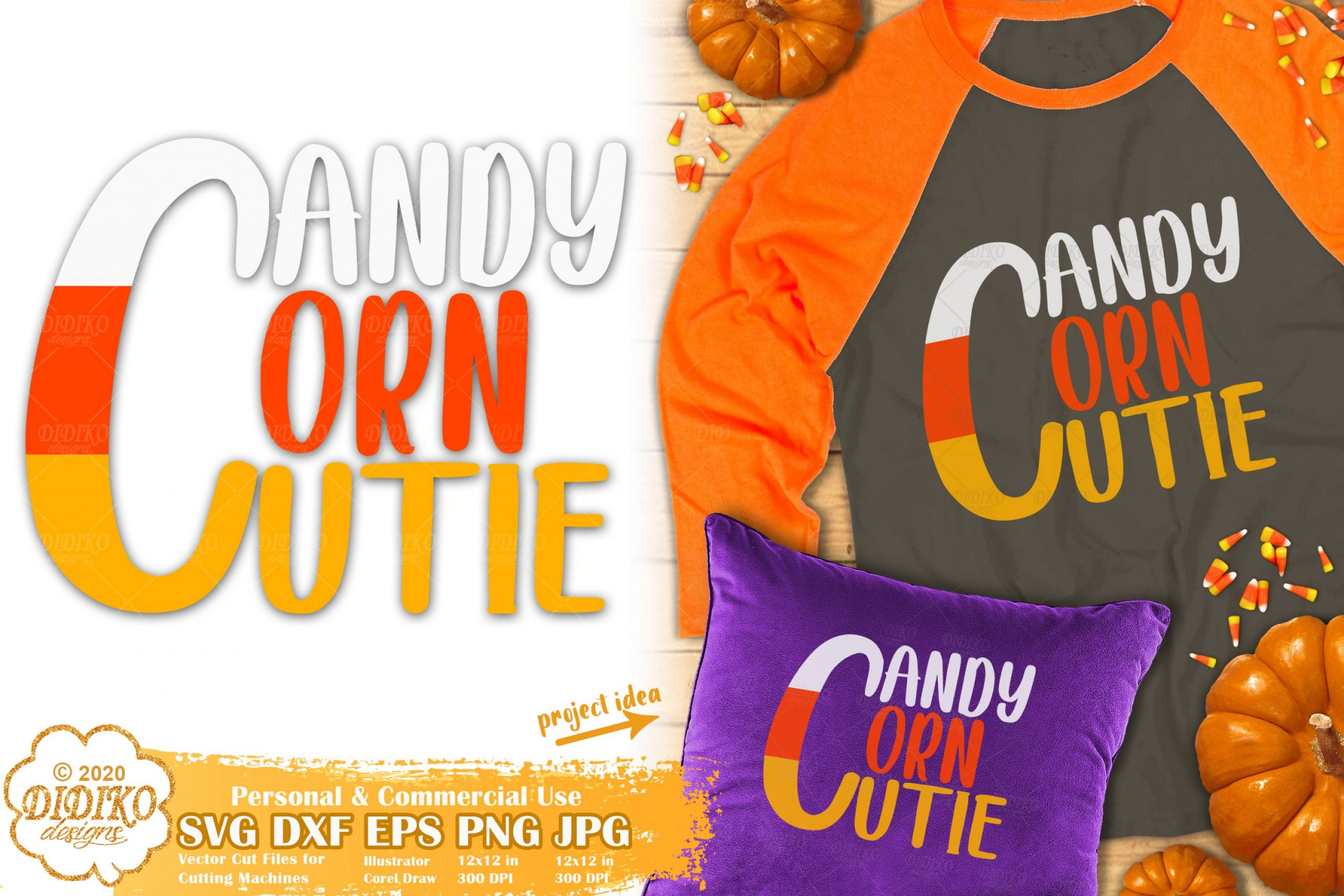 Candy Corn Cutie SVG | Halloween Quotes svg | Girl svg