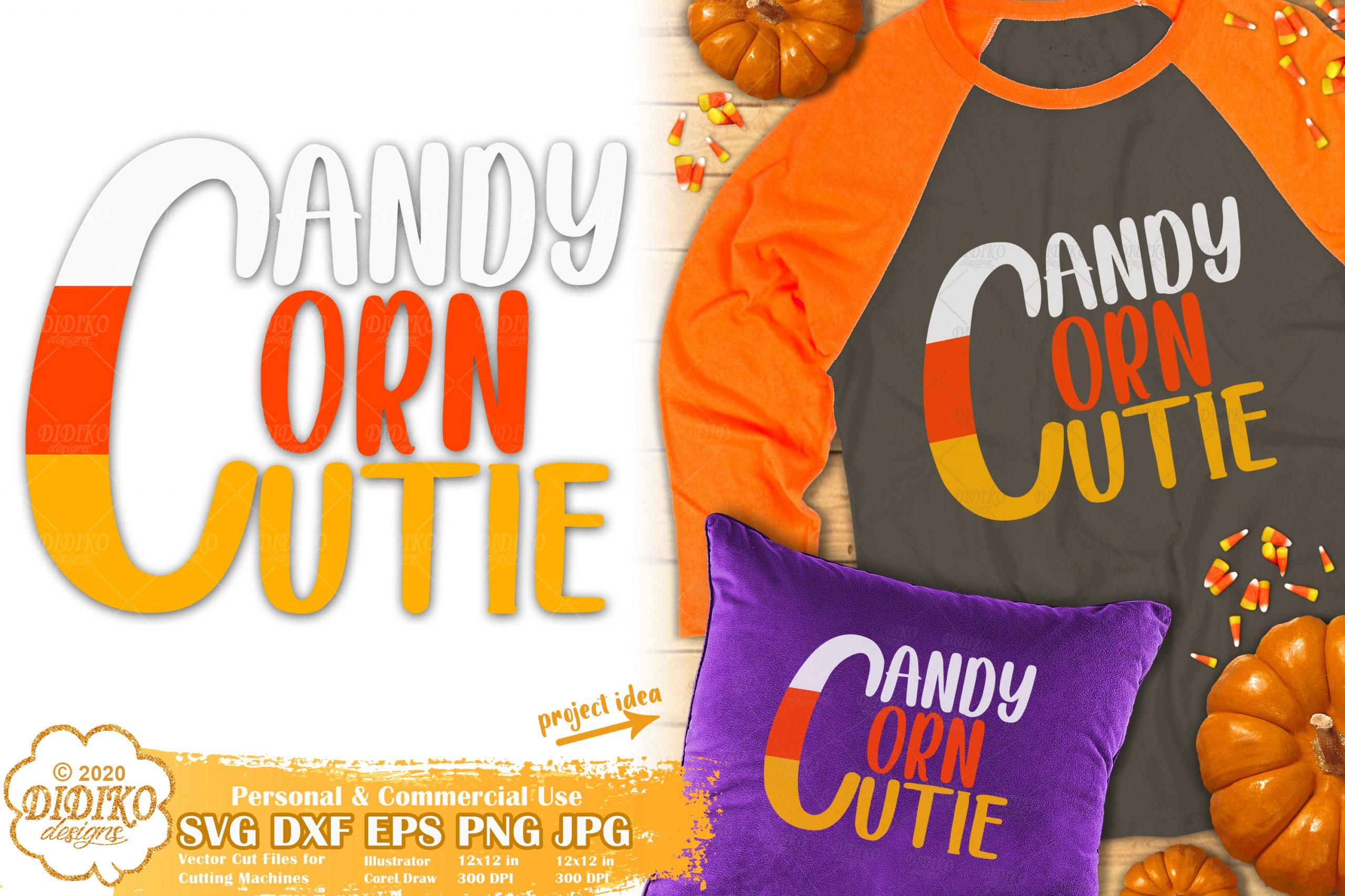 Candy Corn Cutie SVG