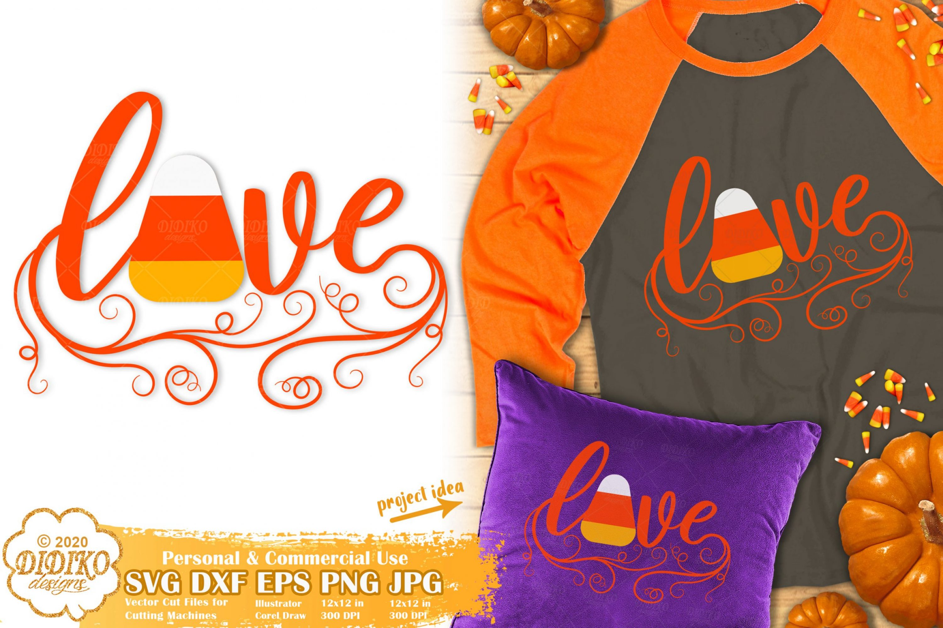 Candy Corn Quotes SVG | Halloween Love Svg | Girl svg