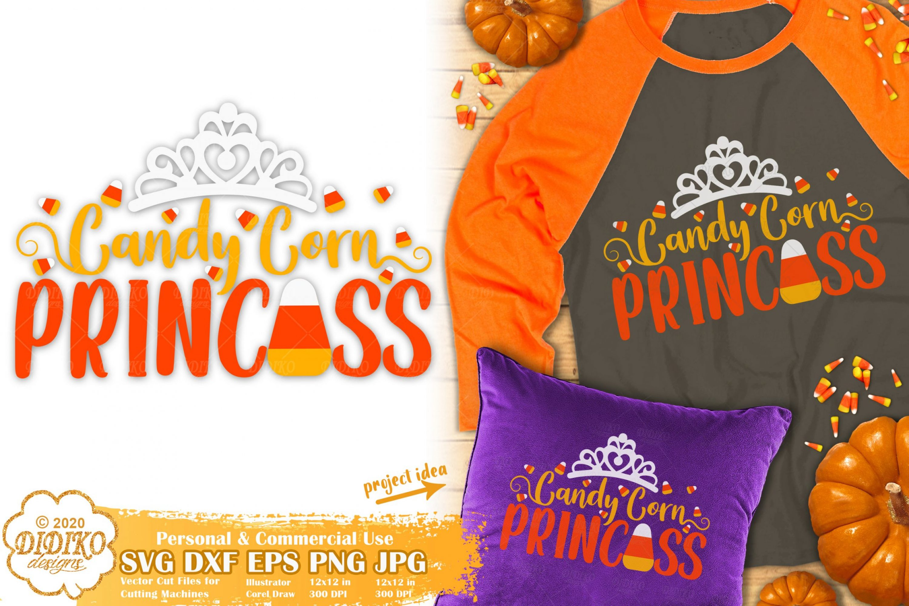 Halloween Quotes SVG #1 | Candy Corn Svg | Girl Svg