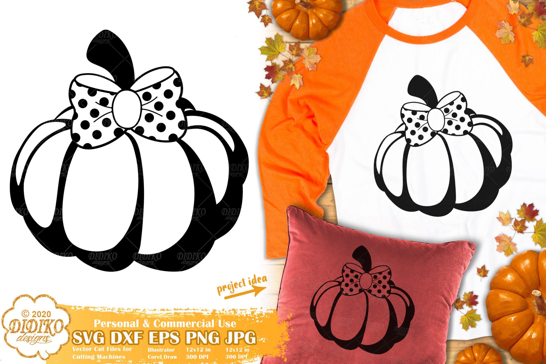 Girl Pumpkin SVG #1 | Fall SVG | Cute Pumpkin SVG