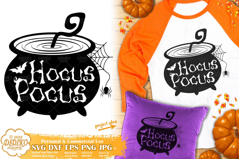 Witch Cauldron SVG | Hocus Pocus svg | Halloween Svg