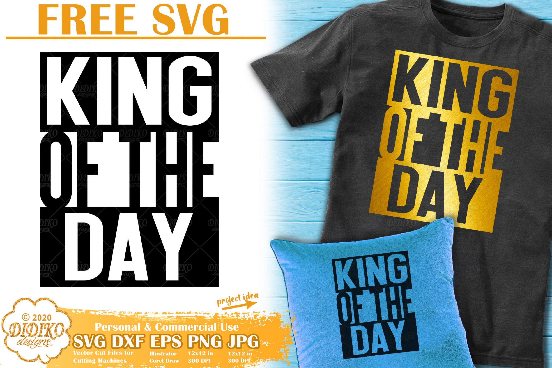Black Man Free SVG #1 | Black King Svg | Black dad svg