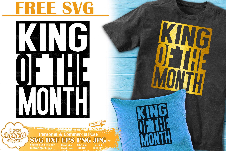 Black Man Free SVG #4 | Black King Svg | Black dad svg