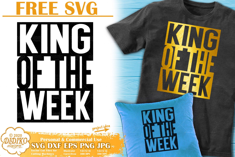 Black Man Free SVG #3 | Black King Svg | Black dad svg