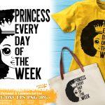 Black Princess SVG #13