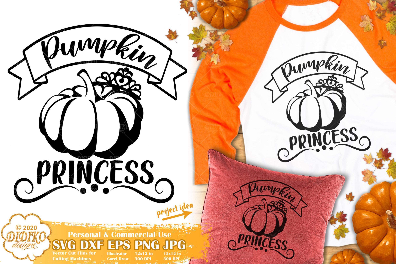 Pumpkin Princess SVG #1 | Thanksgiving SVG | Fall Svg