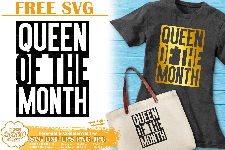 Black Woman Free SVG #4 | Black Queen Svg | Afro svg