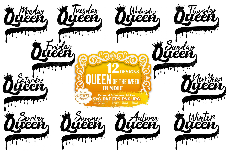 Black Woman SVG Bundle #3   Black Queen SVG Files