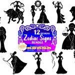 Zodiac SVG Bundle
