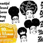 Black Woman SVG Bundle