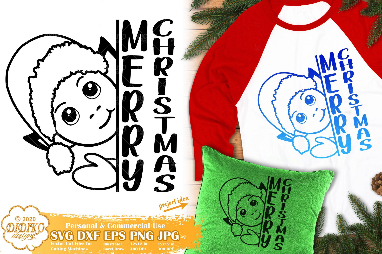 Elf SVG #1 | Merry Christmas SVG | Christmas Elf SVG