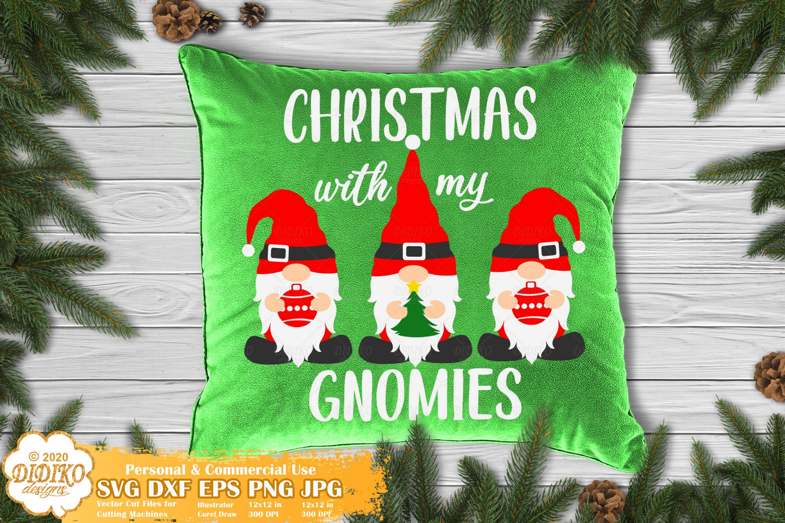 Christmas Gnomes SVG | Gnome Svg | Merry Christmas