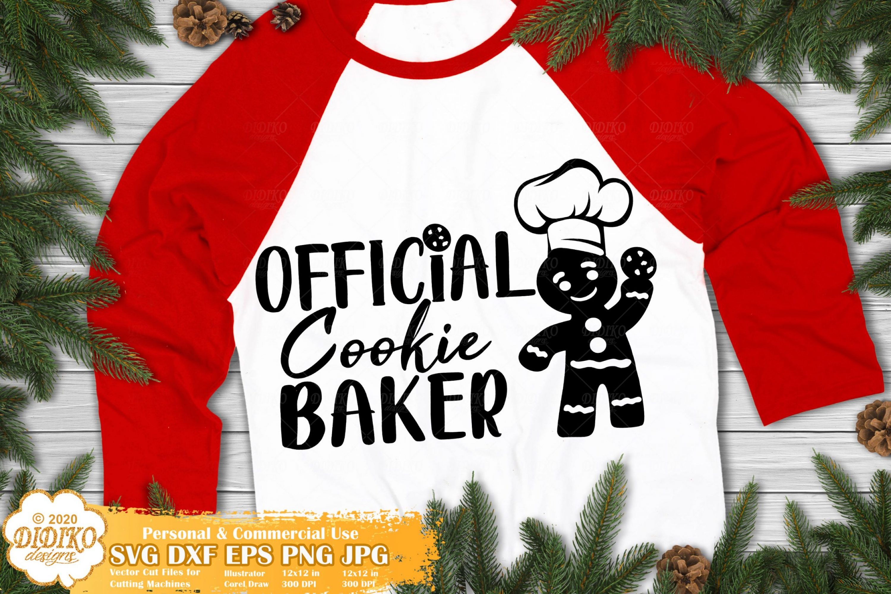 Christmas Cookie SVG | Official Cookie Baker SVG
