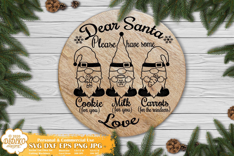 Santa Tray SVG   Christmas Gnomes SVG   Santa SVG