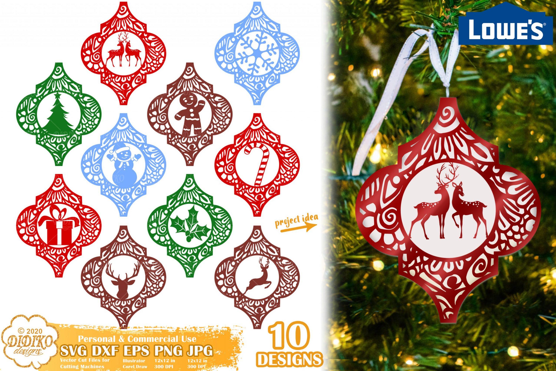 Arabesque Tile Ornament Bundle SVG #5, lowes tile svg