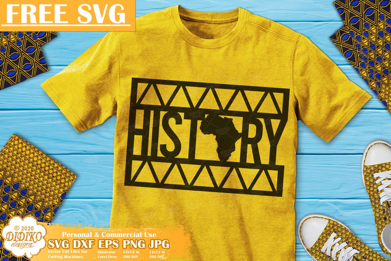 Black History Free SVG, Black Love Svg, Ankara Svg