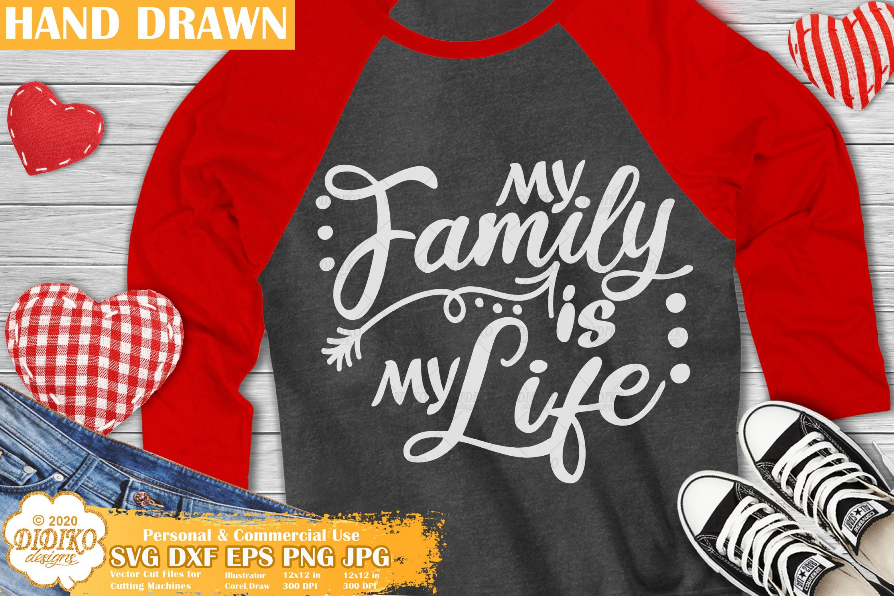 Family Quote SVG, Family Is My Life Svg, Love Svg,