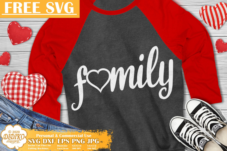 Valentine Free SVG #1, Family SVG, Valentine's day svg