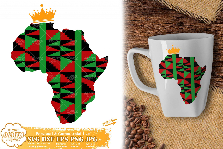 Africa SVG #1, Ankara svg, Black History svg, Africa png
