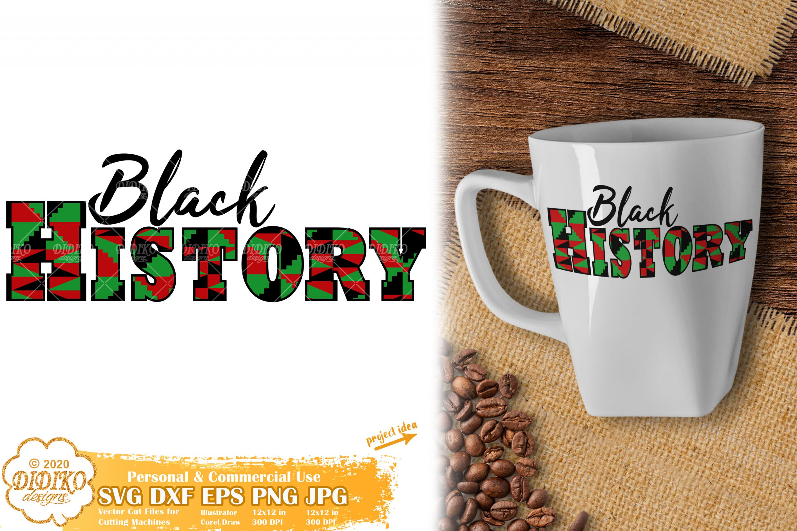 Black History Month SVG
