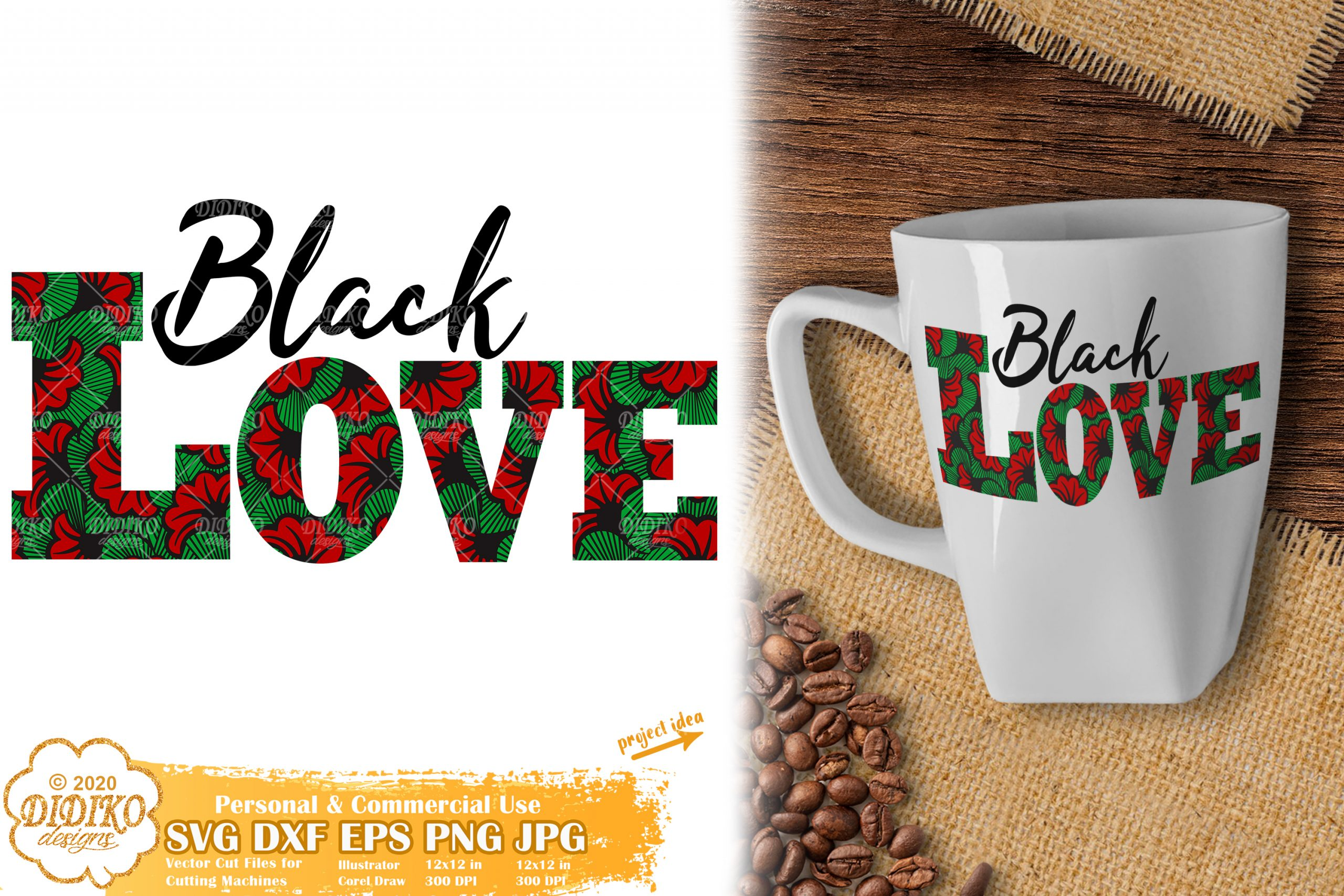 Black Love SVG #5