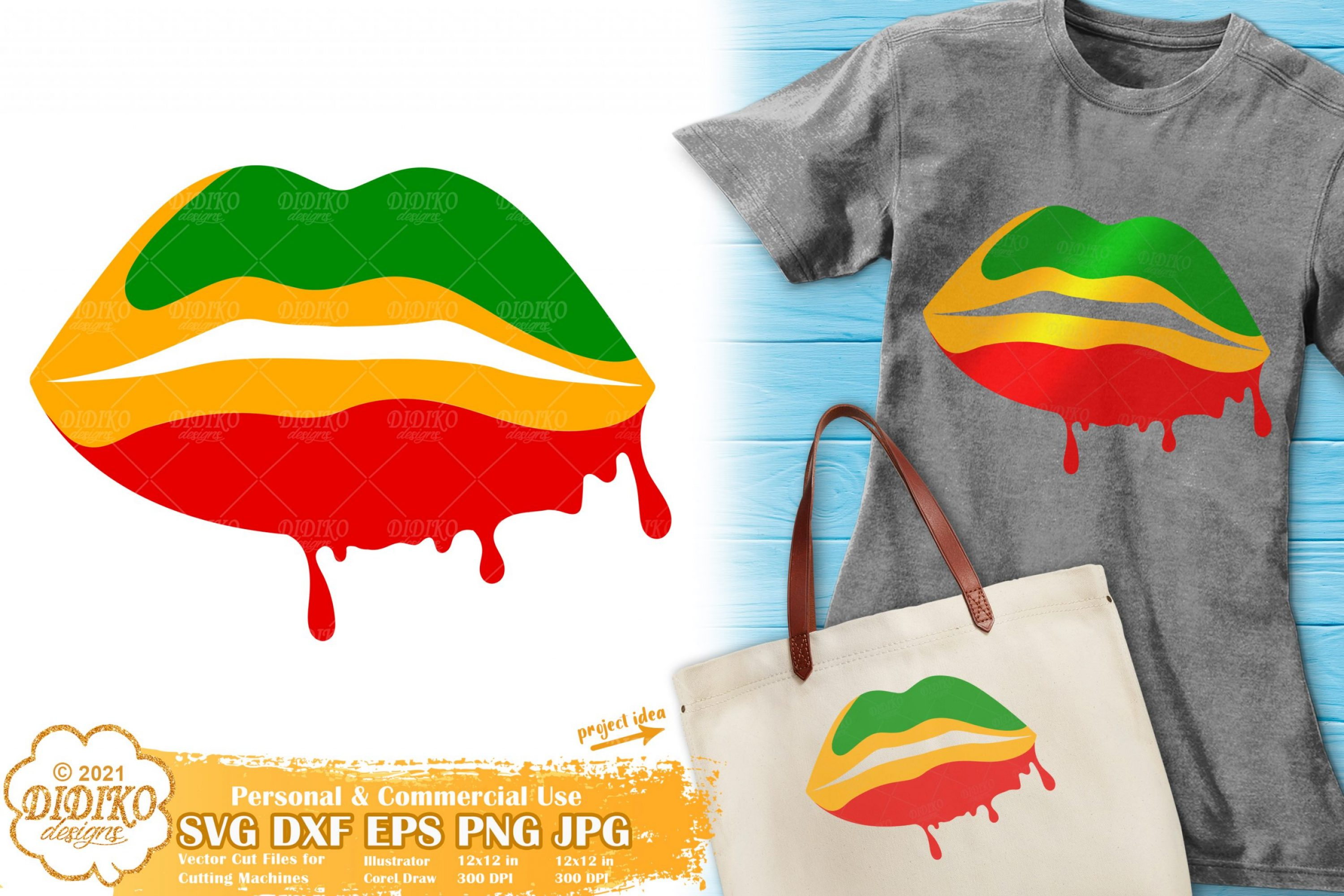 Dripping Lips SVG #1, Black History Lips Svg, Africa Svg