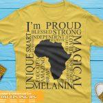 Africa Words SVG