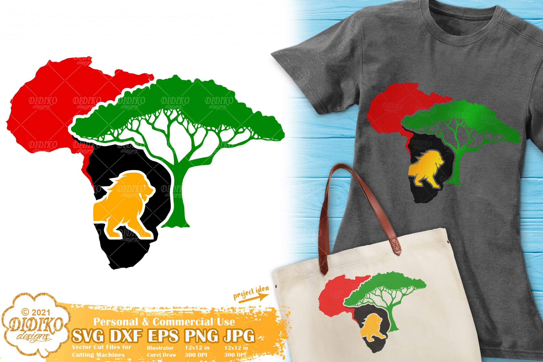African Savanna SVG #1, Black History, Juneteenth Svg