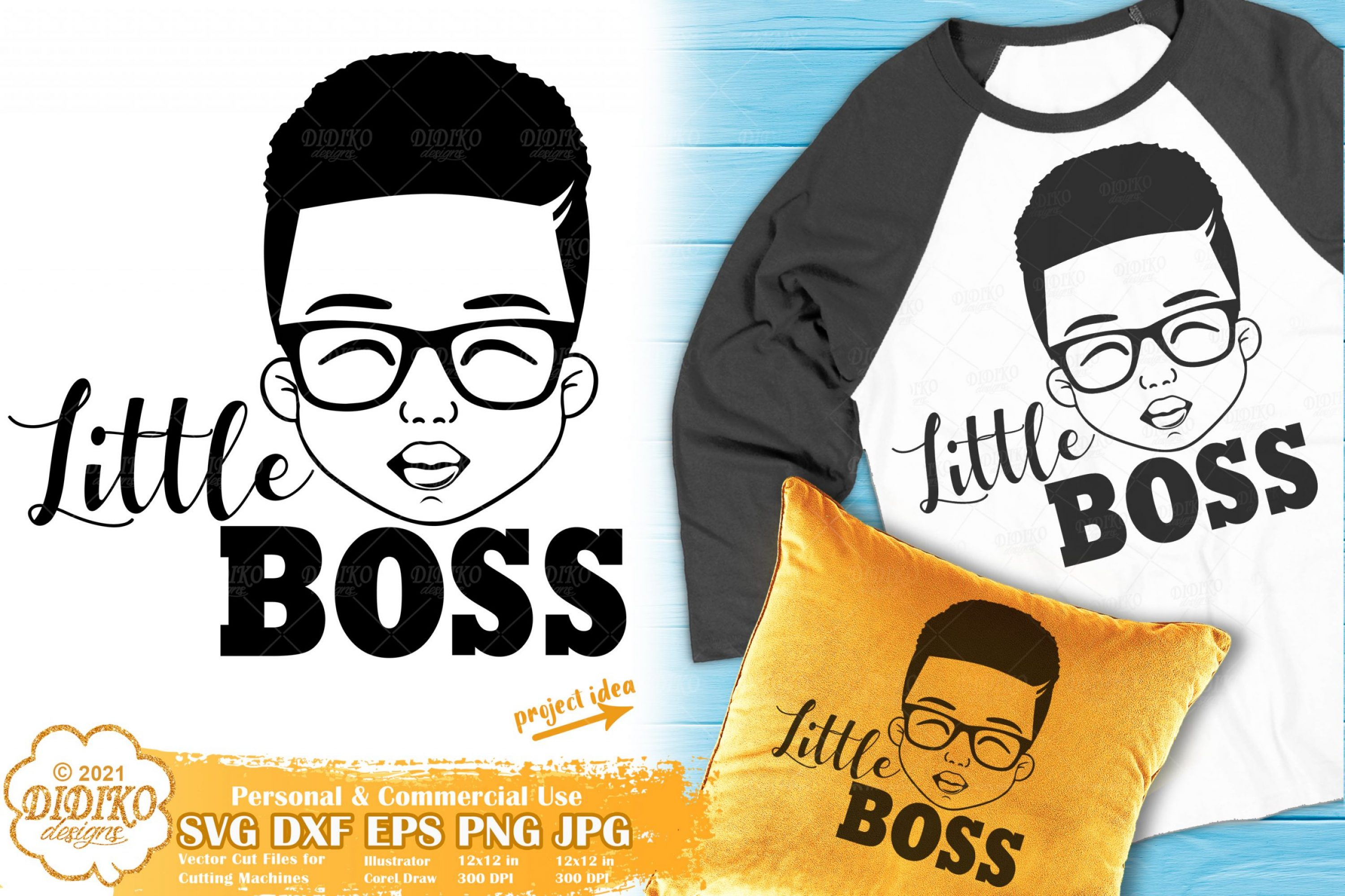 Black Boy SVG #6, Little Boss SVG, Black Boy Joy Svg