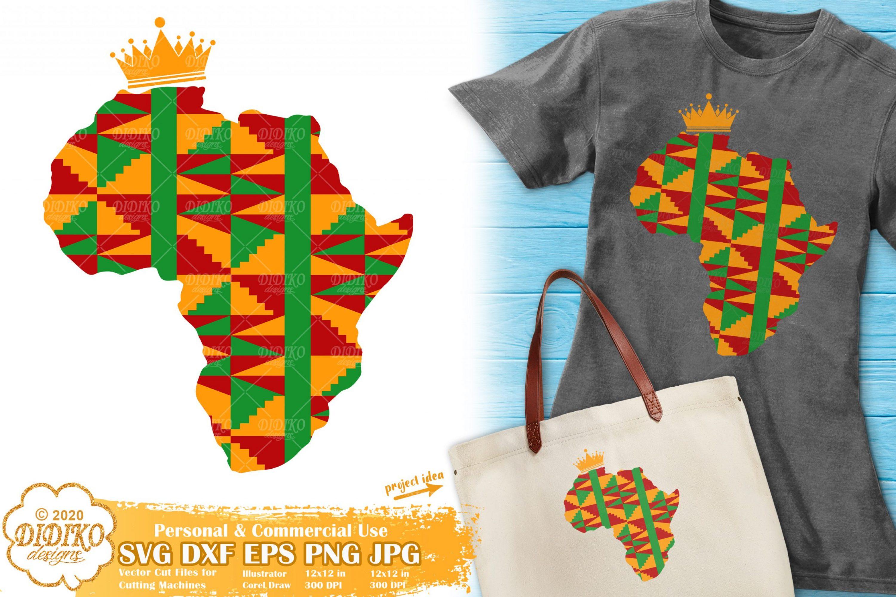 Africa SVG #2, Ankara svg, Black History svg, Africa png