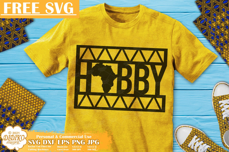 Hubby Free SVG, Black Man Svg, Africa Svg, Ankara