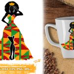 Black Woman Queen SVG