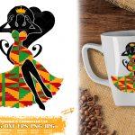 Black Woman Queen SVG #1