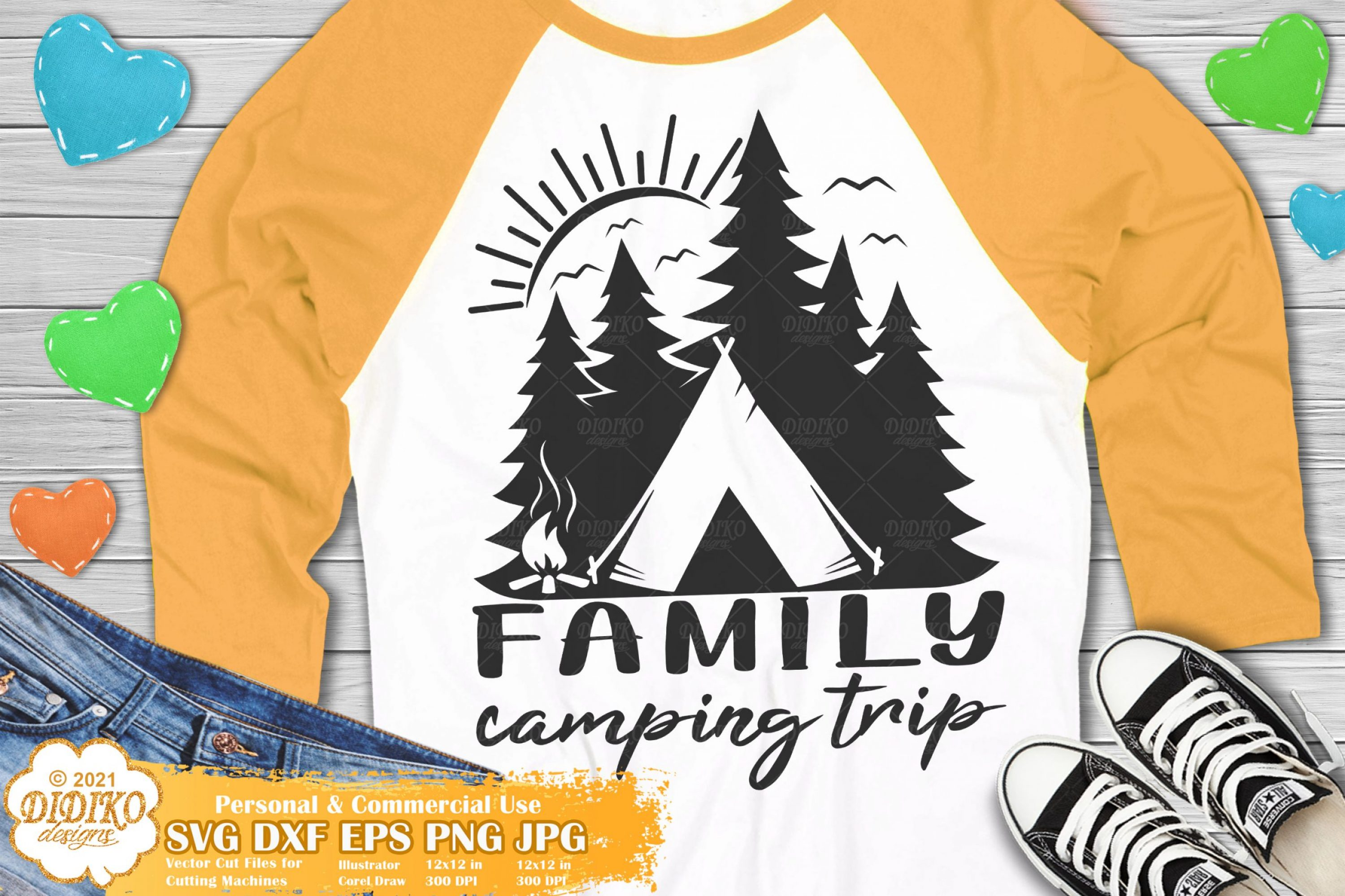 Family Camping Trip SVG #1, Adventure, Camper Svg