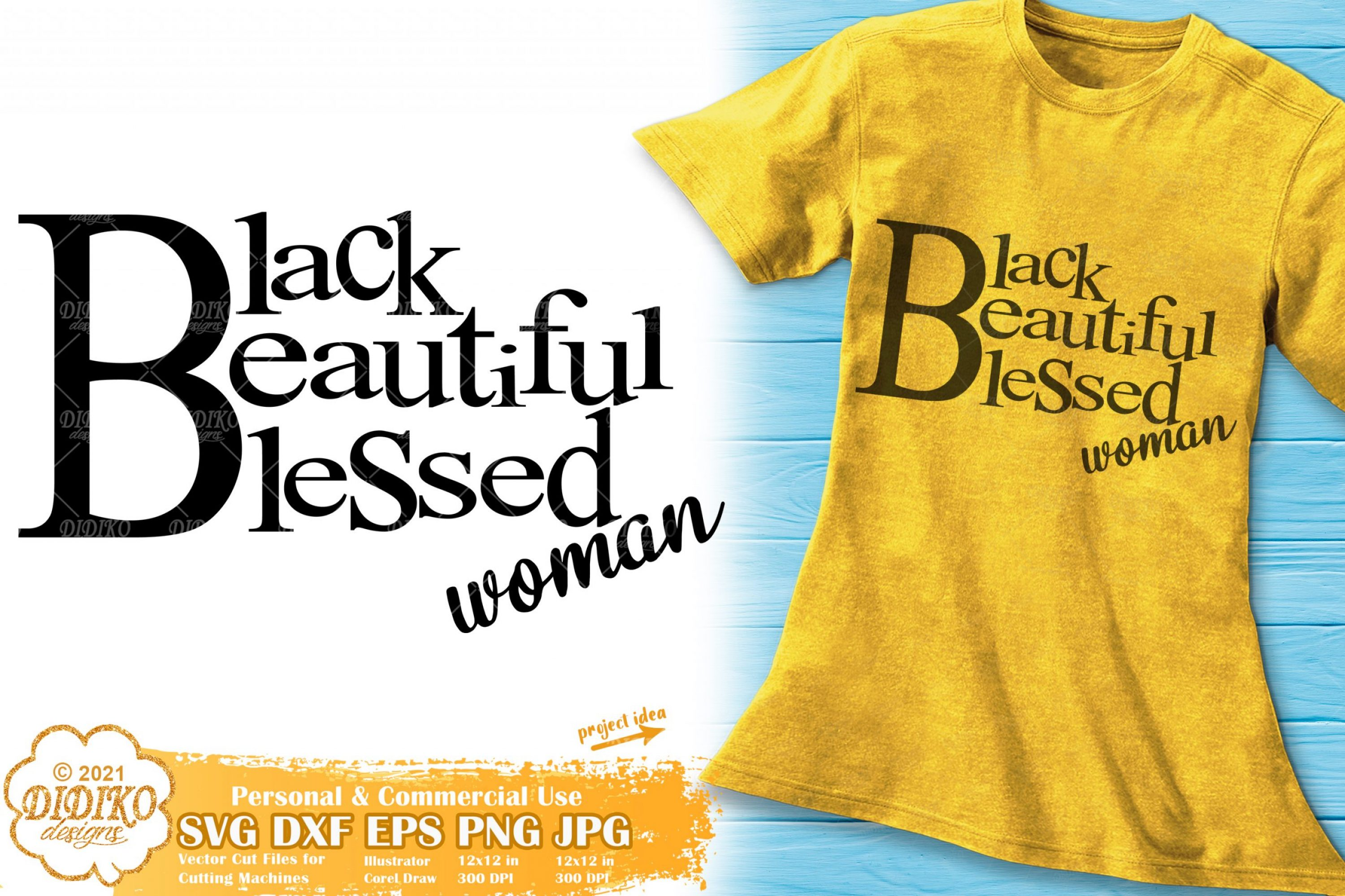 Blessed Black Woman SVG, Black Women Quotes Svg