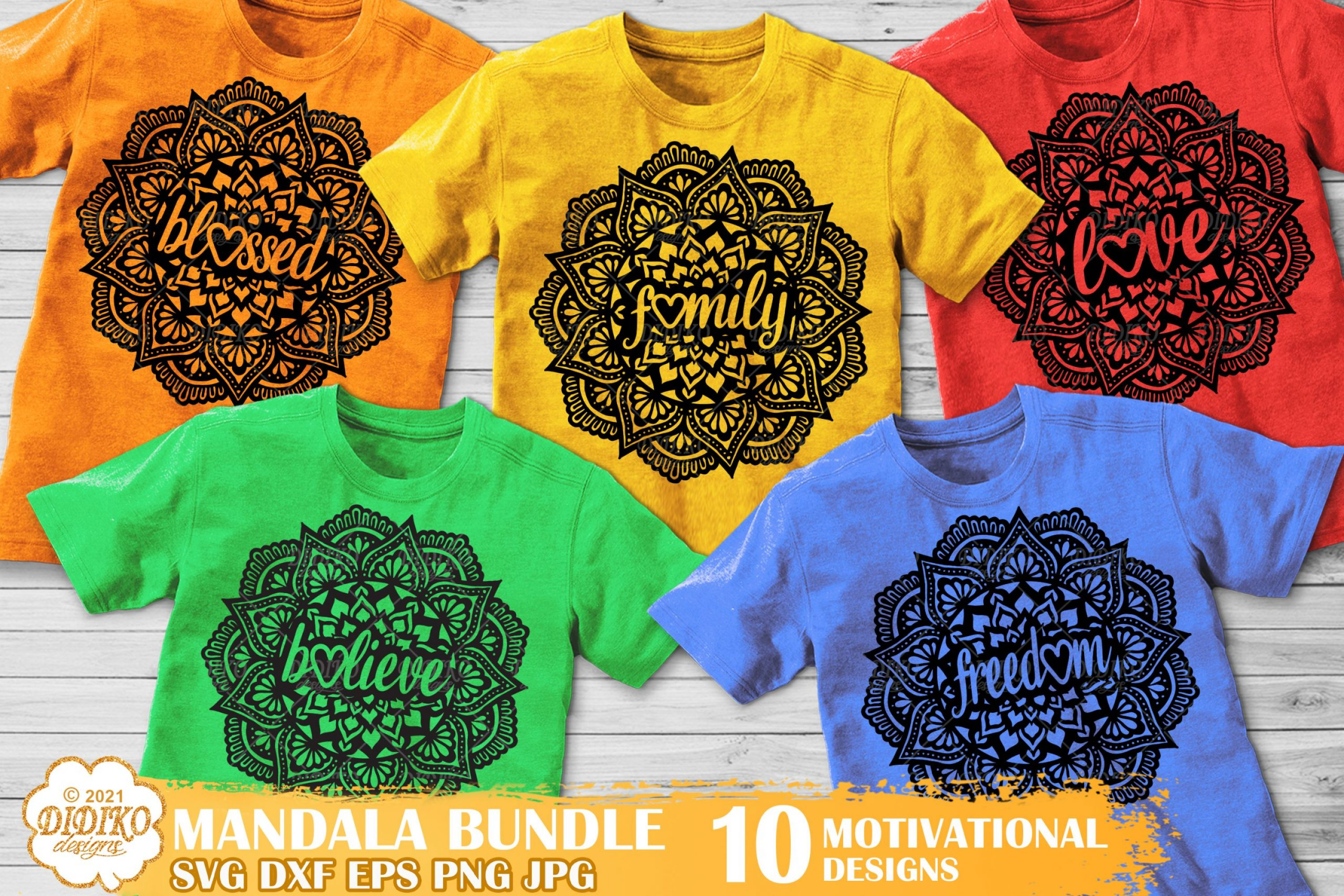 Mandala SVG Bundle, Motivational Quotes Svg Bundle