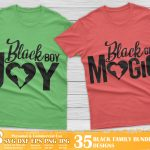 Black Family SVG Bundle
