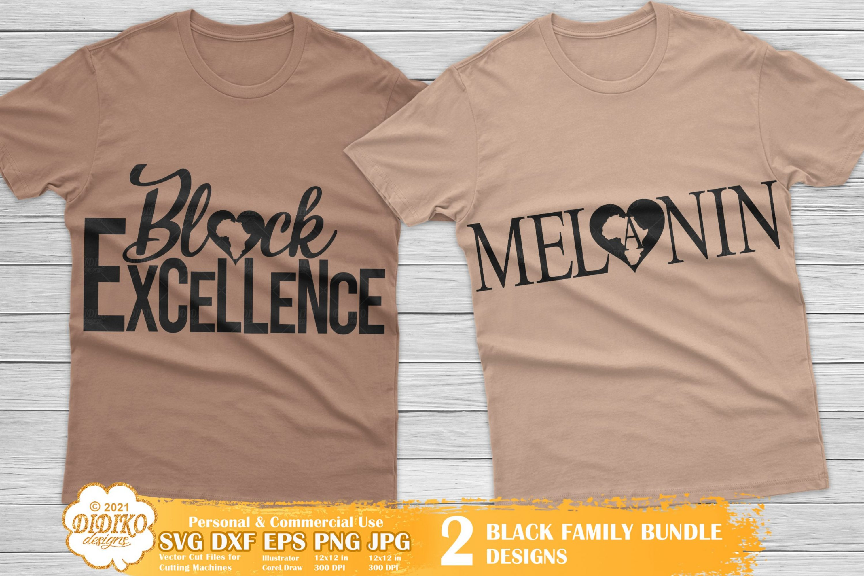 Black Excellence SVG, Melanin SVG, Africa Heart Svg