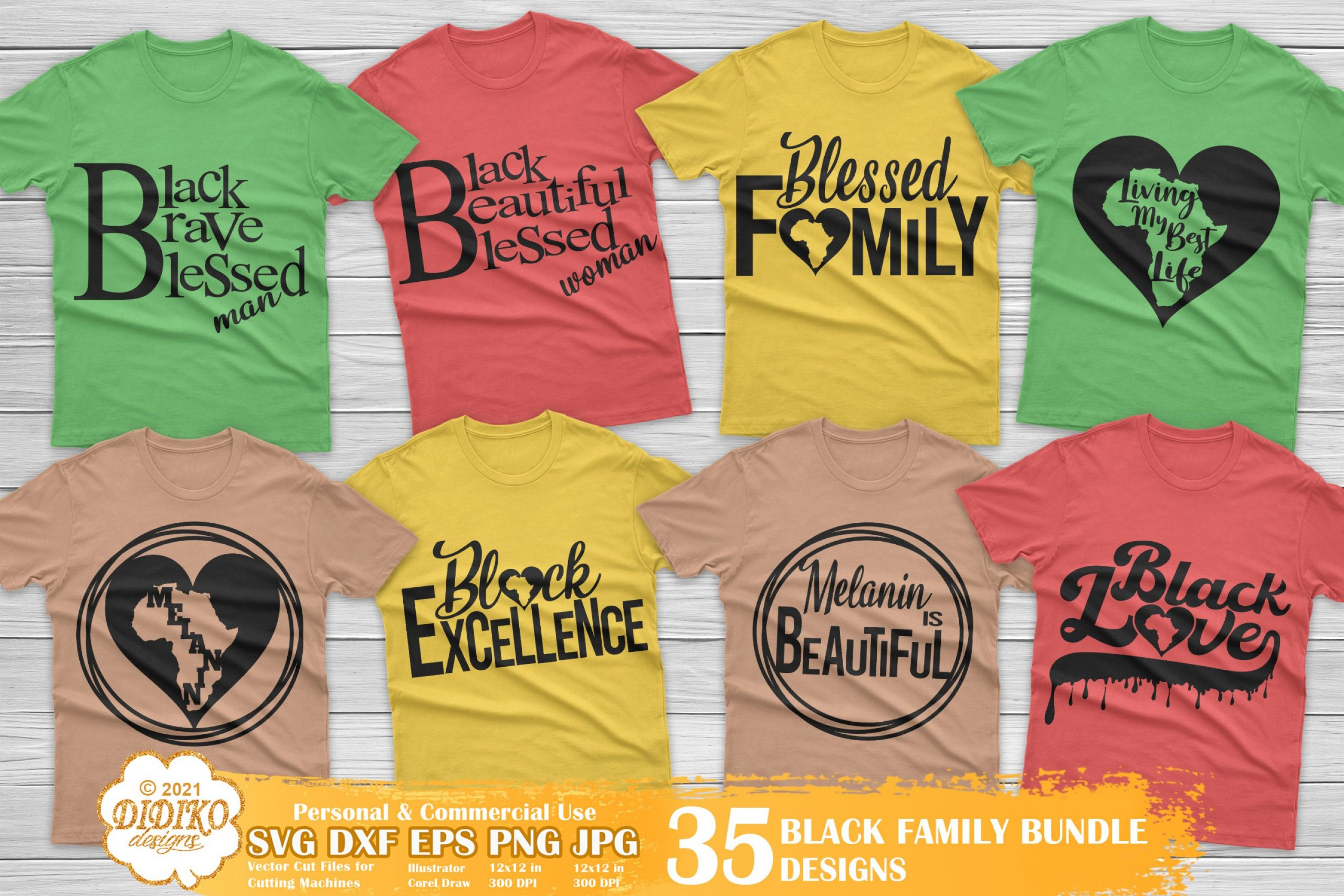 Black Family SVG Bundle, Black Woman Quotes Svg