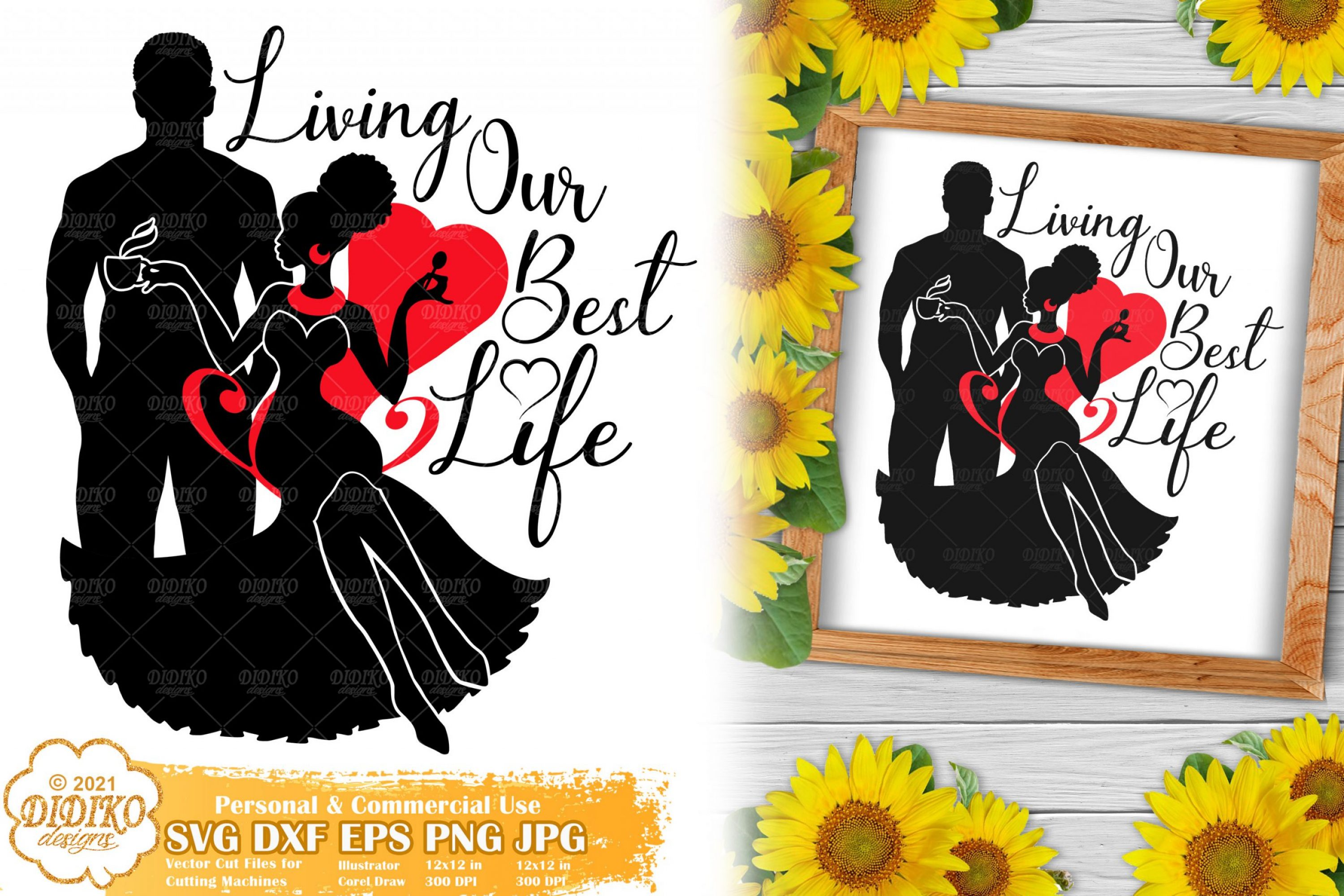 Couple SVG #1, Black Love quotes svg, Anniversary Svg