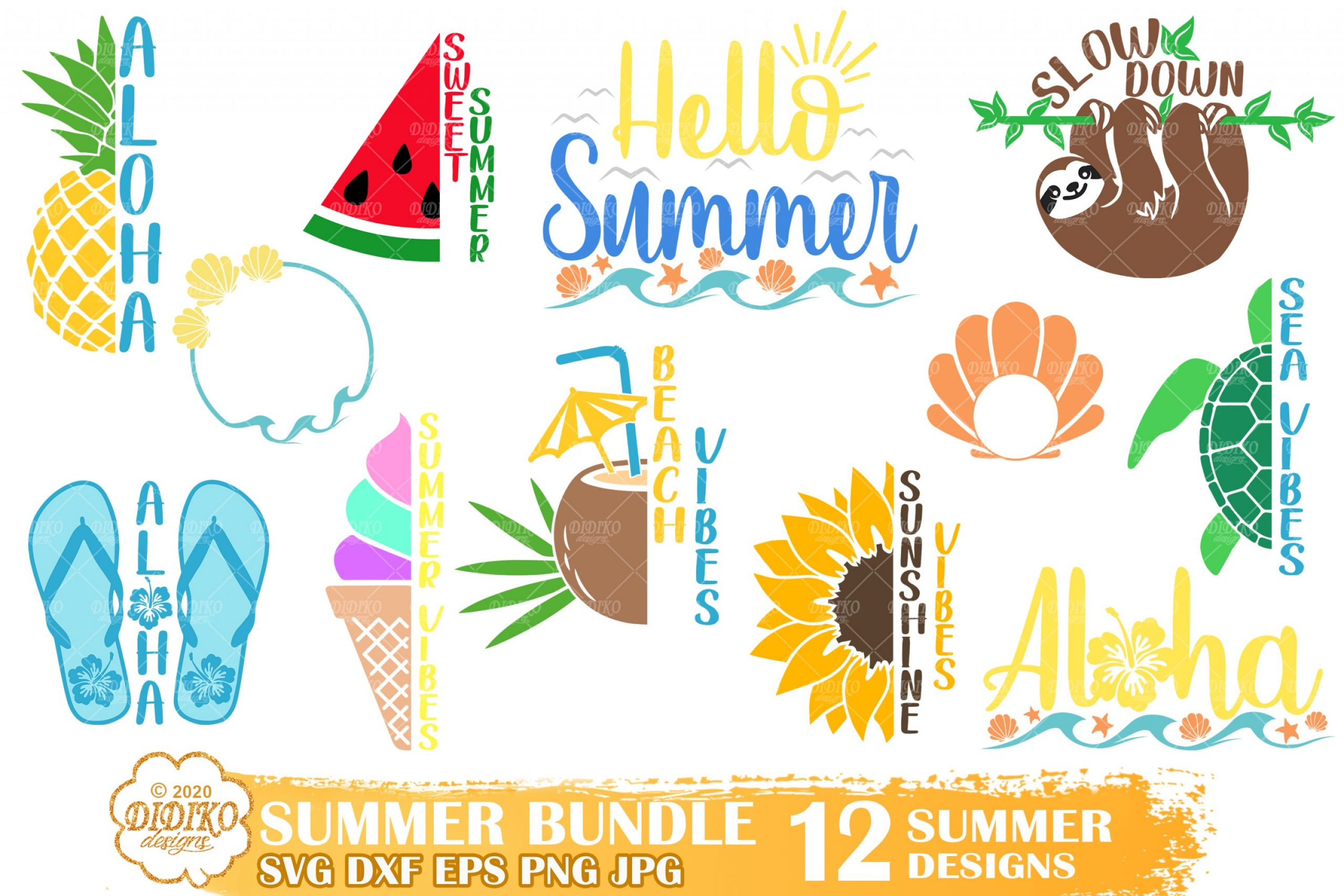 Summer Quotes SVG Bundle, Funny Beach Svg Bundle
